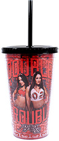 WWE Bella Twins 16-Oz. Travel Tumbler