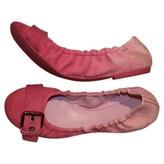 Louis Vuitton Pink Ballet flats