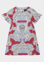 Versace Barocco Istante Cotton Dress