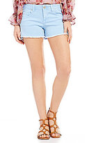 Celebrity Pink Frayed Hem Stretch Cutoff Denim Shorts