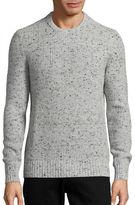 Michael Kors Marled Crewneck Ribbed Sweater