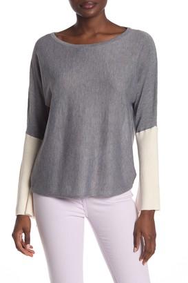 Heartloom Noelle Colorblock Sleeve Sweater