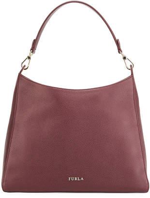 Furla Gisele Medium Saffiano Leather Hobo Bag