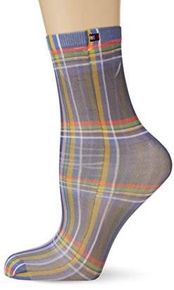 Tommy Hilfiger TH Women Print Sock 1P (Midnight Blue 563)