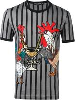 Dolce & Gabbana rooster print T-shirt