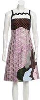 Mary Katrantzou Mercury Jacquard Dress