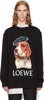 Loewe Black Dog Sweatshirt