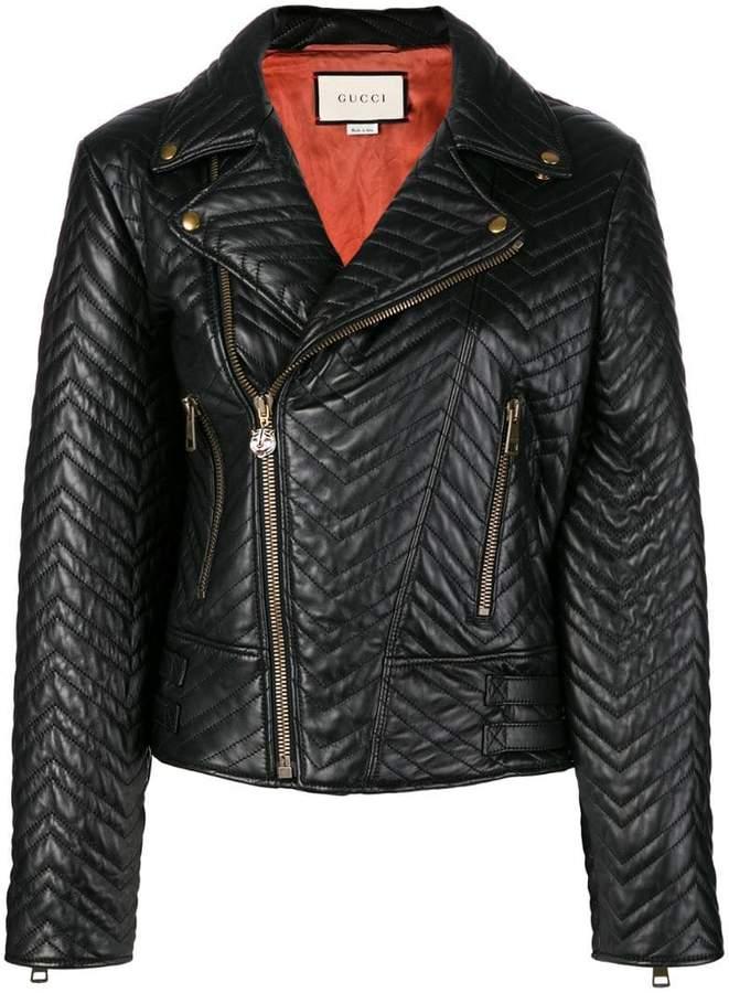 Gucci biker jacket