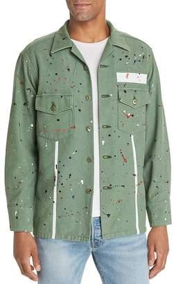 Purple Brand Fatigue Regular Fit Shirt Jacket