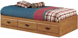 South Shore Prairie Twin Mates Bed with Three Drawers