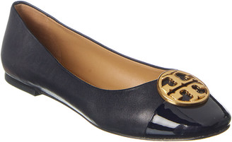 Tory Burch Chelsea Leather Flat