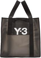 Y-3 Black Beach Tote Bag