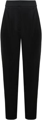 Kalmanovich High Waist Black Trousers