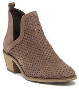 Crevo Neriah Perforated Suede Bootie