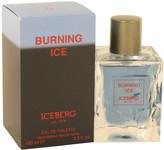 Iceberg Burning Ice by Eau De Toilette Spray for Men (3.3 oz)