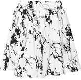 Zimmermann Printed Crepe Mini Skirt