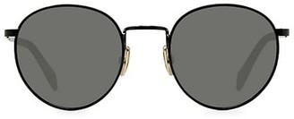 Celine 50MM Medium Round Havana Sunglasses