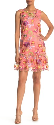 trina Trina Turk Babs Sleeveless Floral Print Dress