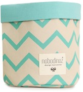 Nobodinoz Mambo basket with zig zag patterns
