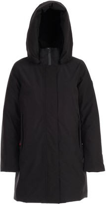 Woolrich Padded Jacket W/hood And Zip