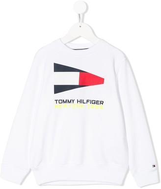 Tommy Hilfiger Junior Embroidered Logo Sweatshirt