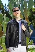 boohoo French Montana Studded Denim Jacket