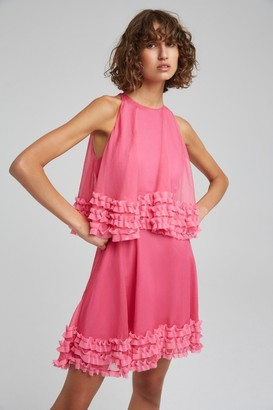 Keepsake MOONLIGHT MINI DRESS pop pink
