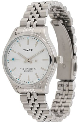 Timex Chain Link Stainless Steel Watch