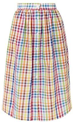 MDS Stripes 3/4 length skirt