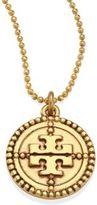 Tory Burch Coin Logo Pendant Necklace