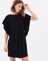 Miss Selfridge Tie Side Kimono Dress