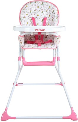 My Babiie MBHC1UN Unicorn Compact Highchair