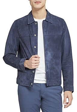 Theory Suede Shirt Jacket