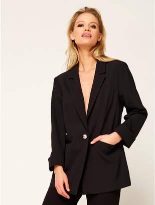 M&Co Single breasted blazer jacket