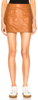 Loewe Mini Skirt in Brown,Neutrals.