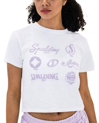 Spalding Women's Active Retro Long Sleeve Tee