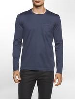 Calvin Klein Platinum Long Sleeve Pocket Shirt