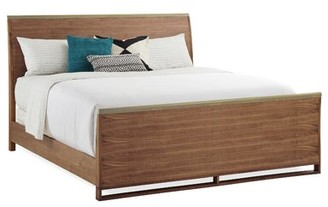 Caracole Modern Craftsman Sleigh Bed Size: Queen