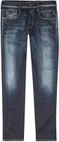 Replay Anbass Hyperflex Blue Slim-leg Jeans