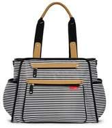 Skip Hop SKIP*HOP® Grand Central Take-it-All Diaper Bag in Black Stripe