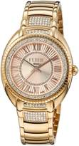 Ferré Milano Women's FM1L073M0081 Silver and White Mother-Of-Pearl Dial Watch.