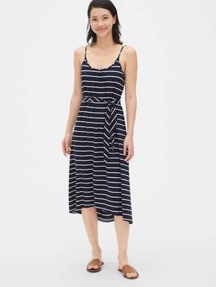 Gap Soft Slub Cami Midi Dress