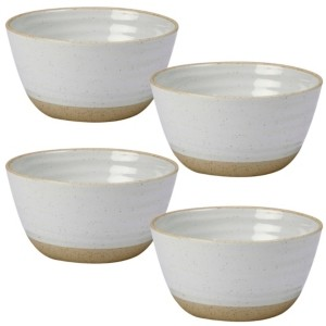 Certified International Artisan 4-Pc. Ice Cream Bowl