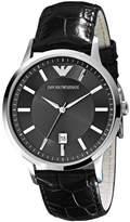 Emporio Armani Watch, Men's Brown Leather Strap AR2413