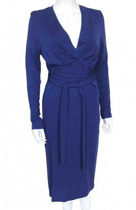 Issa Blue Viscose Dresses
