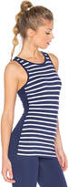 Beyond Yoga x kate spade Sailing Stripe Tank in Navy. - size M (also in XS)