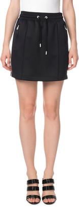 Kenzo Side-Stripe Drawstring Sporty Mini Skirt