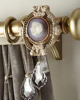 6009 Parker Joule Medallion Curtain Bracket