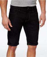 G Star Men's 3301 Super-Slim-Fit Gray Denim Shorts