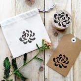 STUDY Little Stamp Store Washi Paper Flower Stamp